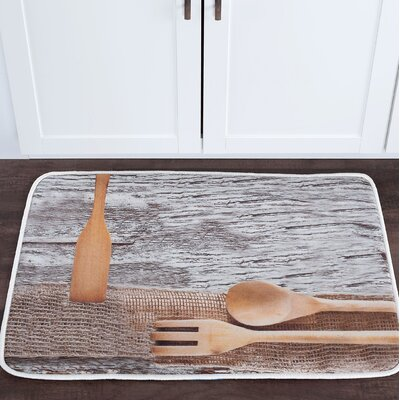 Witte Kitchen Utensils Foam Core Bath Rug Size: 24 W x 36 L