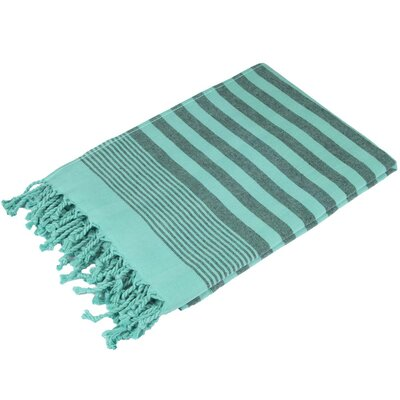 Fenwick Landing 100% Cotton Beach Towel Color: Mint Green