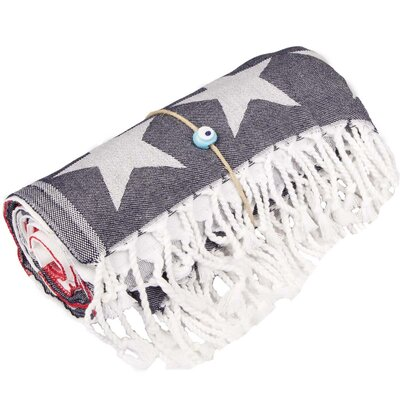 Thurston USA Flag 100% Cotton Beach Towel
