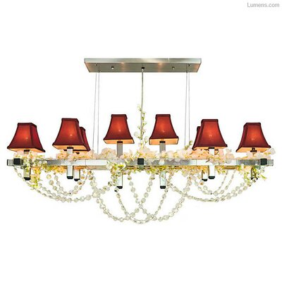 Destinee 8-Light LED Kitchen Island Pendant