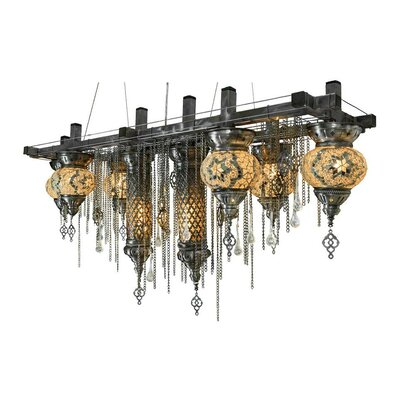 Ngo 8-Light Kitchen Island Pendant