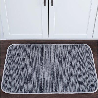 Crumpler Striatum Foam Core Bath Rug Size: 24 W x 36 L