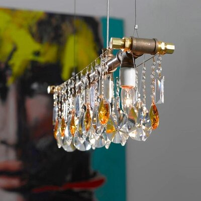 Everardo 5-Light Crystal Chandelier