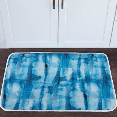 Knepp Tie Dye Foam Core Bath Rug Size: 24 W x 36 L