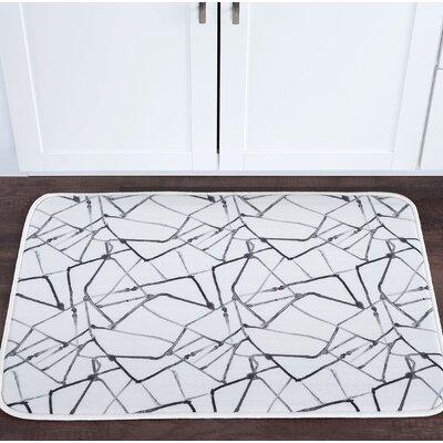 Knepp Shatter Foam Core Bath Rug Size: 24 W x 36 L