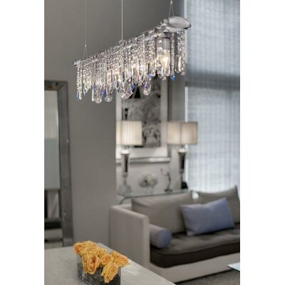 Eustacio 5-Light Crystal Chandelier