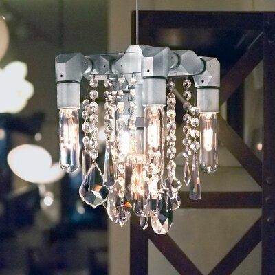 Eustacio 5-Light Crystal Chandelier