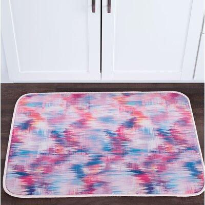 Knepp Brushed Diamonds Foam Core Bath Rug Size: 24 W x 36 L