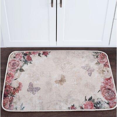 Sydney Romance Foam Core Bath Rug Size: 24 W x 36 L