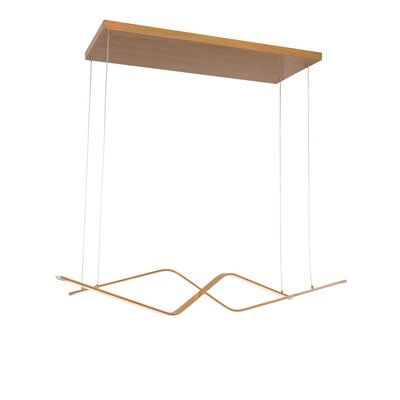 Oxton LED Geometric Pendant