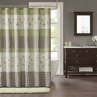 Fossum Embroidered Shower Curtain