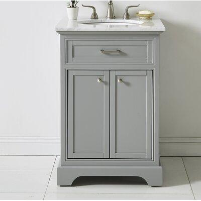 Darry 24 Single Bathroom Vanity Set Base Finish: Light Gray