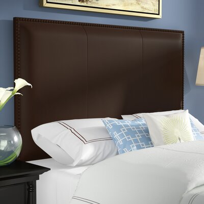 Dufton Leather Upholstered Panel Headboard Size: Queen