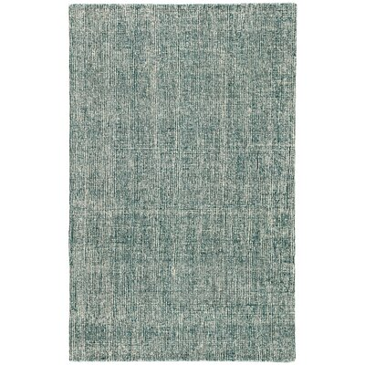 Kate Spade New York by Jaipur Living Fairfax Handmade Solid Green/White Area Rug Size: Rectangle 8 x 10