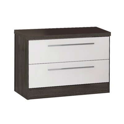 Hassell 2 Drawer Nightstand