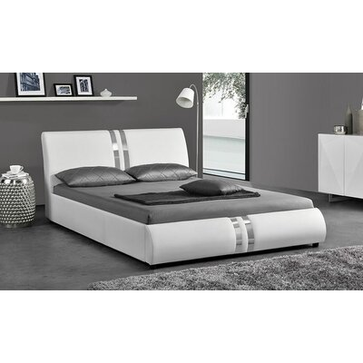 Acree Upholstered Platform Bed Size: King