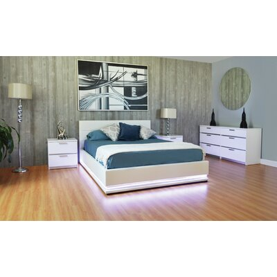Haskett Queen Storage Platform Configurable Bedroom Set