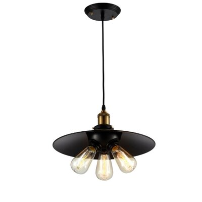 Camile 3-Light Cluster Pendant