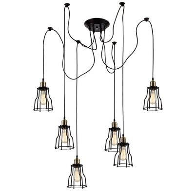 Camile 6-Light Cluster Pendant