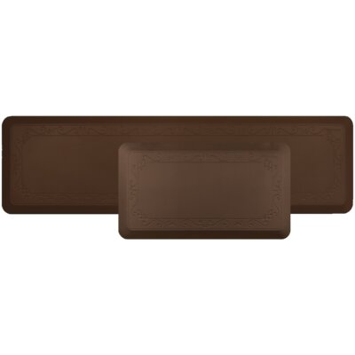 Stalder Kitchen Mat Color: Brown