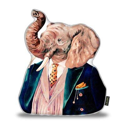 Jeon Elephant Throw Pillow