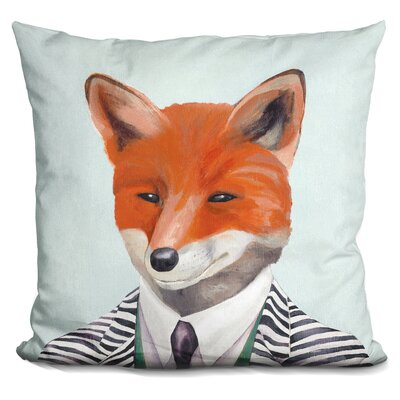 Pegasi Fox Throw Pillow