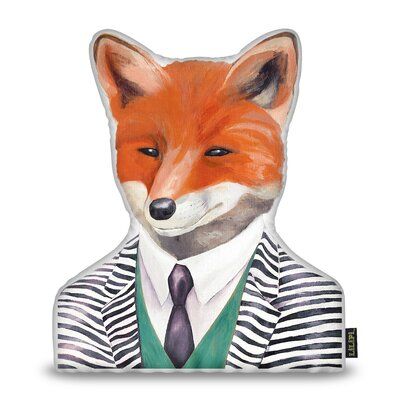 Jepsen Fox Throw Pillow