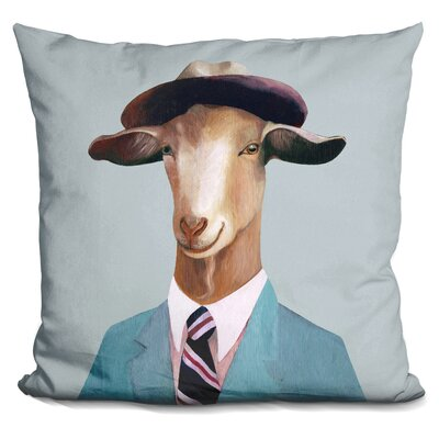 Hertzler Goat Throw Pillow