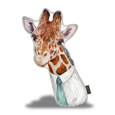 Jerez Giraffe Throw Pillow