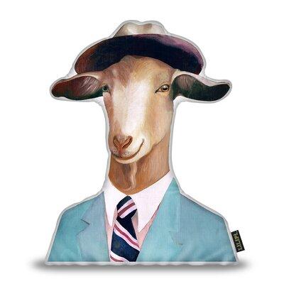 Jerkins Goat Throw Pillow