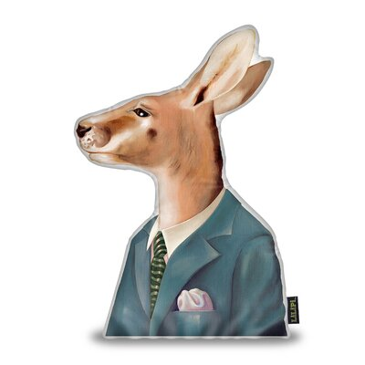 Jessop Kangaroo Throw Pillow