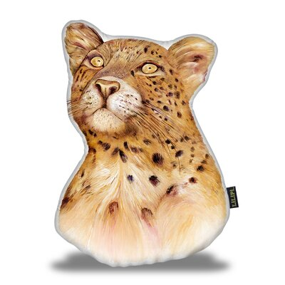 Jewell Leopard Throw Pillow