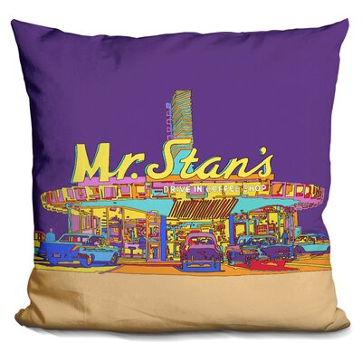 Mr Stan Throw Pillow