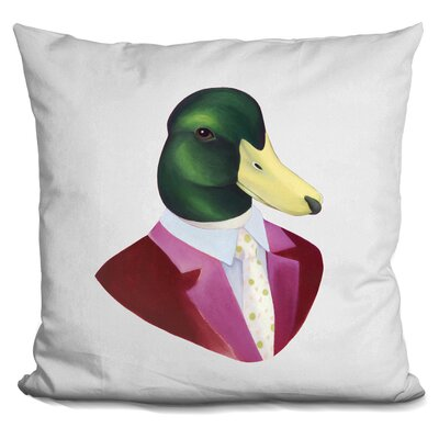Hestia Mallard Duck Throw Pillow