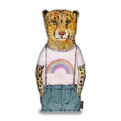 Jhonson Little Cheetah Throw Pillow