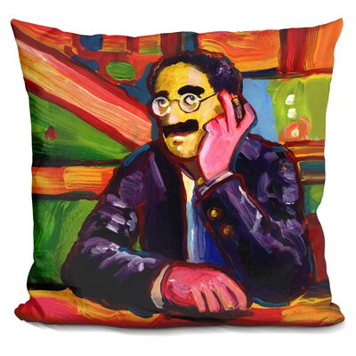 Groucho Marx Throw Pillow