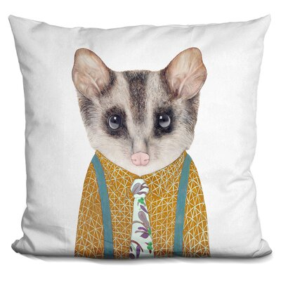 Hewett Possum Throw Pillow