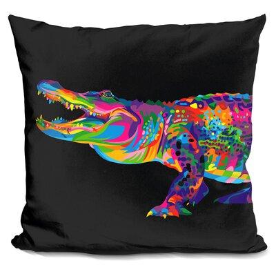 Perdue Alligator Throw Pillow