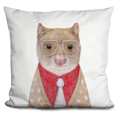 Quoll Throw Pillow