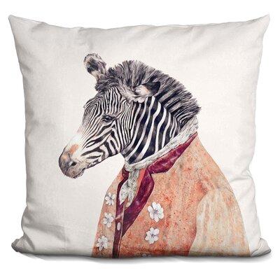 Jelks Zebra Throw Pillow
