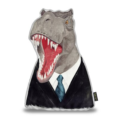Harshbarger T Rex Throw Pillow