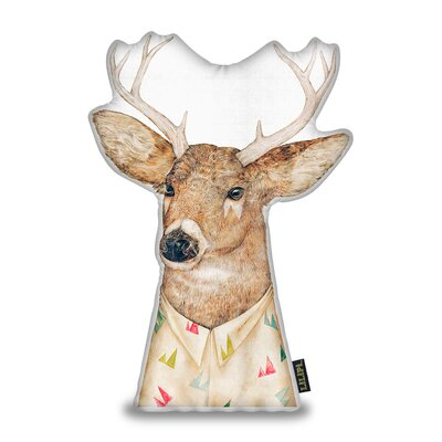 Harshbarger Tailed Deer Throw Pillow
