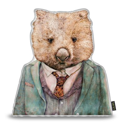 Harshbarger Wombat Throw Pillow