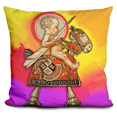 New Year Baby Throw Pillow