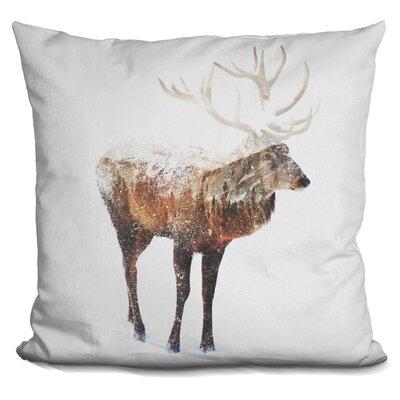 Okelly Deer Throw Pillow