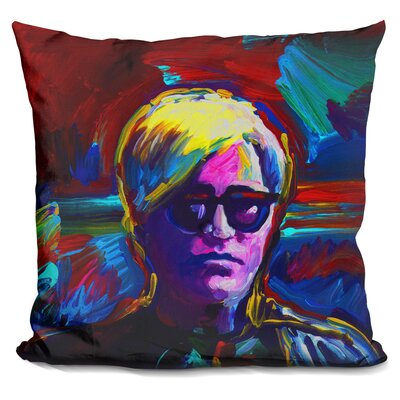 Sisler Andy Warhol Throw Pillow