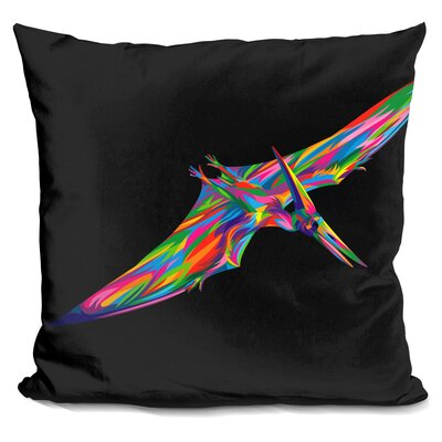 Pterodactyl Throw Pillow