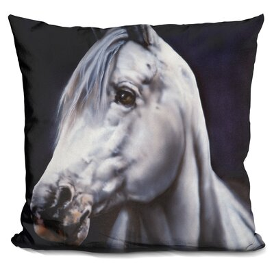 Lentz Arabian Stallion Throw Pillow