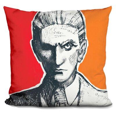 Franz Kafka Throw Pillow