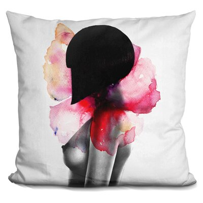 Come Undone Throw Pillow